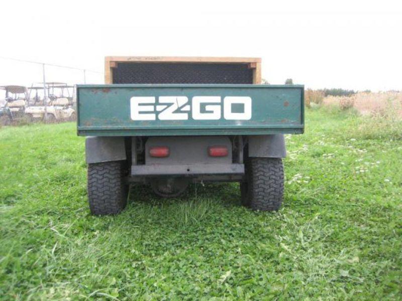 88 Ezgo Workhorse Yard Truck Gas Green Checkerplate New
