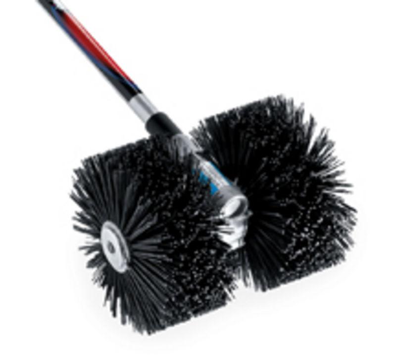 Power Broom Bristle Gas On Shindaiwa T270 New Used